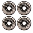 Mission BSX Outdoor 82A Inline Hockey Wheel - Clear/Black - 4 Pack