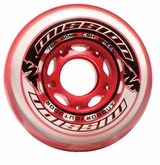 Mission CSX Indoor/Outdoor 78A Roller Hockey Wheel - Red