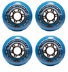 Mission DSX Indoor 76A Inline Hockey Wheel - Blue - 4 Pack