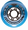 Mission DSX Indoor 76A Roller Hockey Wheel - Blue