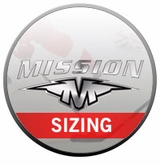 Mission Elbow Pad Sizing Chart