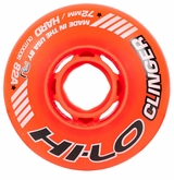 Mission Hi-Lo Clinger Hard Outdoor 82A Inline Hockey Wheel