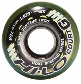 Mission Hi-Lo Court Soft Roller Goalie Hockey Wheel