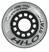 Mission Hi-Lo Static Extra-Soft Indoor 74A Roller Hockey Wheel - Silver