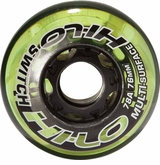 Mission Hi-Lo Switch Indoor/Outdoor 78A Roller Hockey Wheel - Green