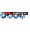 Mission HL:2 Indoor/Outdoor 78A Inline Hockey Wheel - Blue - 4 Pack