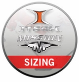 Mission/Itech Hockey Pant Sizing Chart