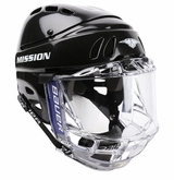 Mission M1501 Hockey Helmet w/ Bauer Concept II Shield