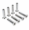 Mission Roller Round Head Flush Mount Axle - 8 Pack