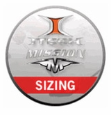 Mission Shoulder Pad Sizing Chart