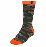 Monkey Sport by Pepper Foster - Sniper Socks (Camo/Orange)