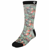 Monkey Sport by Pepper Foster - Summer Camp Socks (Jungle/Black)