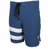 Monkey Sport by Pepper Foster - Surfs Up Adult Swim Trunks (Navy)