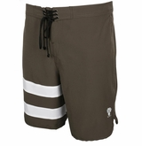 Monkey Sport by Pepper Foster - Surfs Up Adult Swim Trunks (Olive)
