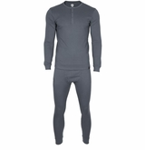 Monkey Sport by Pepper Foster - Adult Thermal Set (Charcoal)