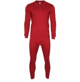 Monkey Sport by Pepper Foster - Adult Thermal Set (Firebrick)