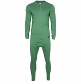 Monkey Sport by Pepper Foster - Adult Thermal Set (Forest Green)
