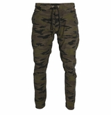 Monkey Sport by Pepper Foster - Woven Joggers Adult Pant (Camo)