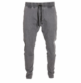 Monkey Sport by Pepper Foster - Woven Joggers Adult Pant (Gray)