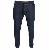 Monkey Sport by Pepper Foster - Woven Joggers Adult Pant (Indigo)