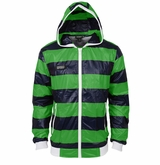 Monkey Sport by Pepper Foster - Lake Day Adult Jacket (Green/Navy)