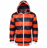 Monkey Sport by Pepper Foster - Lake Day Adult Jacket (Orange/Navy)