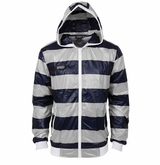 Monkey Sport by Pepper Foster - Lake Day Adult Jacket (White/Navy)