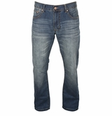 Monkey Sport by Pepper Foster - Relaxed Fit Medium Denim Jeans - Men