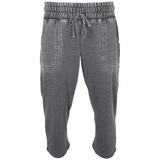 Monkey Sport by Pepper Foster - Rugby Adult 3/4 Pant (Faded Black)