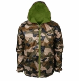 Monkey Sport by Pepper Foster - Wood Land Adult Jacket (Camo/Green)