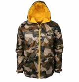 Monkey Sport by Pepper Foster - Wood Land Adult Jacket (Camo/Yellow)