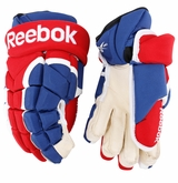 Montreal Canadiens Reebok 11KP Pro Stock Hockey Gloves