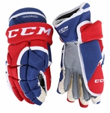 Montreal Canadiens CCM 12XP Pro Stock Hockey Gloves � Eric Tangradi