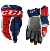 Montreal Canadiens CCM 3 Pro Stock Hockey Gloves - Galchenyuk