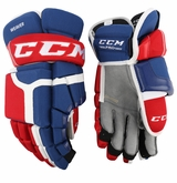 Montreal Canadiens CCM 55 Pro Stock Hockey Gloves - Weaver