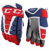 Montreal Canadiens CCM 96 Pro Stock Hockey Gloves - Hudy