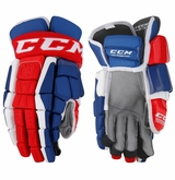 Montreal Canadiens CCM Crazy Light Pro Stock Hockey Gloves