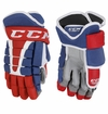 Montreal Canadiens CCM HG96 Pro Stock Hockey Gloves