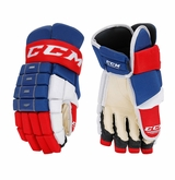 Montreal Canadiens CCM 4-Roll Pro Stock Hockey Gloves