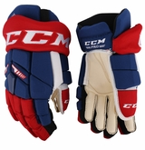 Montreal Canadiens CCM TKX Pro Stock Hockey Gloves - Thomas