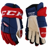 Montreal Canadiens CCM TKX Pro Stock Hockey Gloves - Weaver