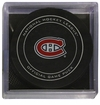 Montreal Canadiens Official NHL Game Puck with Cube