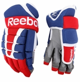 Montreal Canadiens Reebok 95XP Pro Stock Hockey Gloves