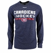 Montreal Canadiens Reebok Center Ice Locker Room Sr. Long Sleeve Performance Shirt