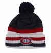 Montreal Canadiens Reebok Center Ice Men's Team Cuffed Pom Knit Beanie