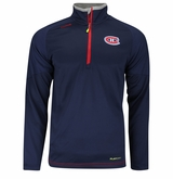 Montreal Canadiens Reebok Center Ice Sr. Quarter Zip Pullover