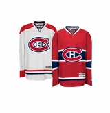 Montreal Canadiens Reebok Edge Premier Crested Hockey Jersey