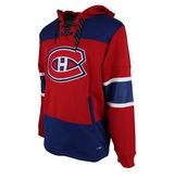 Montreal Canadiens Reebok Face-Off Team Jersey Sr. Hooded Sweatshirt