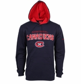 Montreal Canadiens Reebok Faceoff Playbook Sr. Pullover Hoody