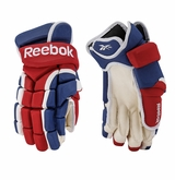 Montreal Canadiens Reebok Pro Stock 10K Hockey Gloves